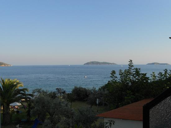 Angeliki Beach Hotel: view from room