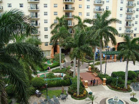 Wyndham Palm-Aire: Udsigt fra balkon