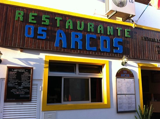 Os Arcos Restaurante: our favourite restaurant in Albufeira old town, Os Arcos