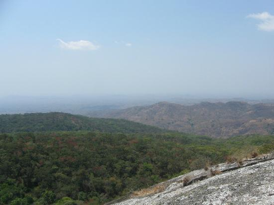 Ntchisi Forest Lodge: View from East viewpoint