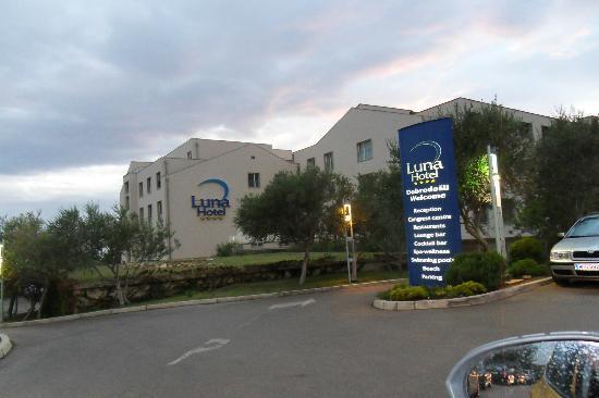 Luna Island Hotel : arrivée à l'hotel
