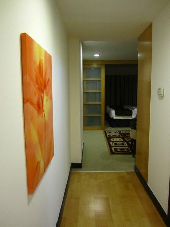 Savoy Suites Hotel Apartments: From the doorway's view