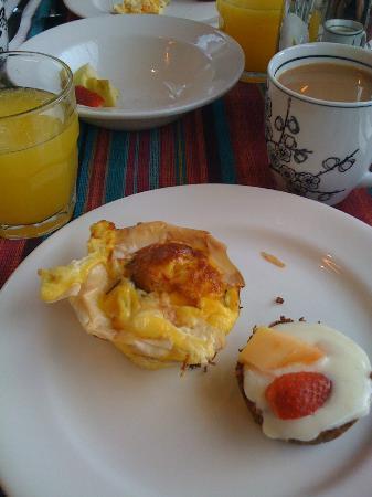 Blackheath Lodge: Breakfast