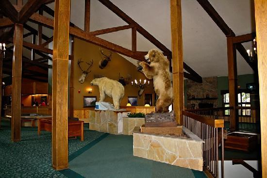 Inn at Silver Creek: Lobby area