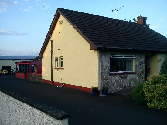 Broughshane B & B: View from the road