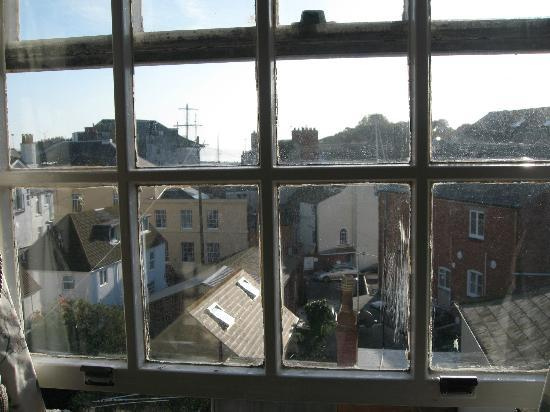 Wadham Guesthouse: View from room 7