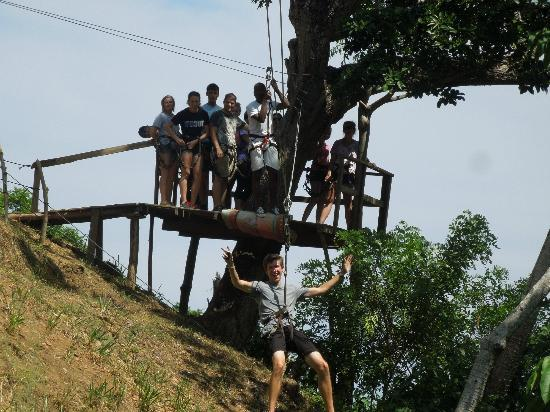 Jungle Top Zipline Adventure: Nice group shot