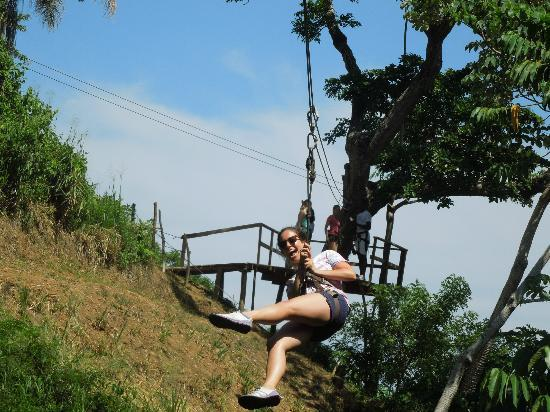 Jungle Top Zipline Adventure: Weeeee