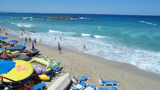 Fig Tree Bay : fig tree beach looking great