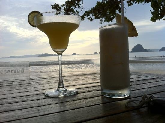 The Tubkaak Krabi Boutique Resort: sunset at Tubkaak