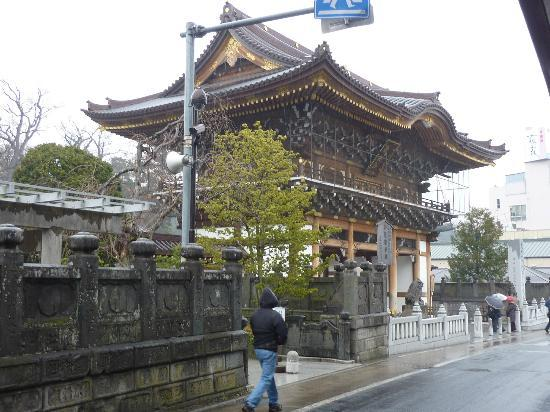 Narita Excel Hotel Tokyu: Temple in Narita