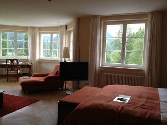 Schloss Elmau: our room