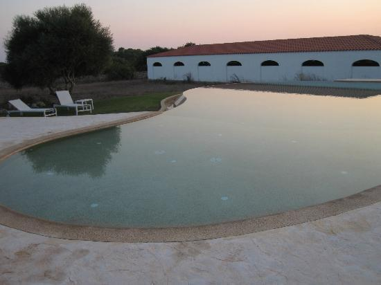 Hotel Rural Binigaus Vell: The pool