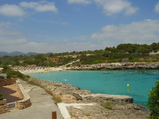 Porto Colom, Spain: Beautiful beach Cala Marsal, ine of the most beautiful I have ever visited