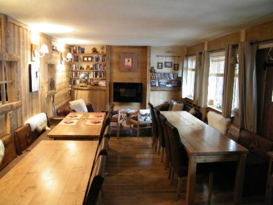 Les Cimes: Sala colazioni