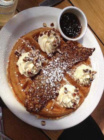 Praline Bacon Waffle - Picture of Screen Door, Portland - TripAdvisor