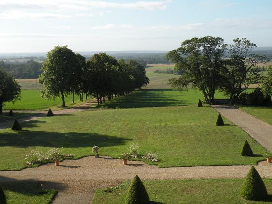 Chateau de La Plante: View from the window