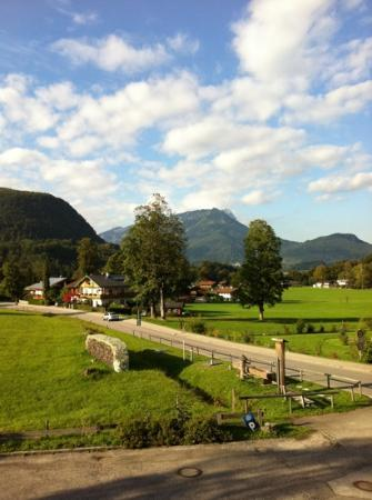 Baerenstueberl: view from the balcony of my room
