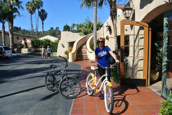 Brisas Del Mar, Inn At The Beach: Hotel bikes