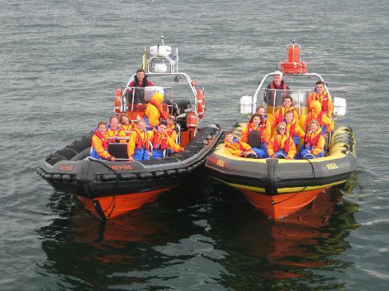 Forth Sea Safaris: Taeping and Vigil