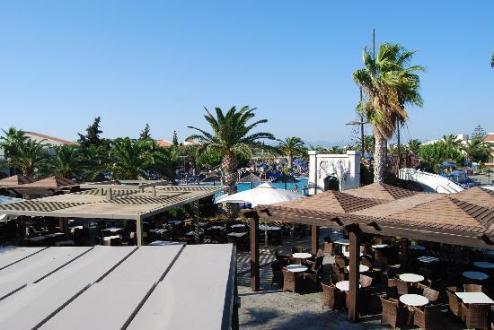 Kipriotis Village Resort: Vue de la terrasse