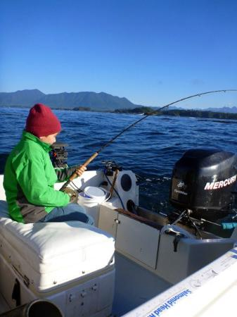 Clayoquot Ventures Tofino Fishing : Kids had a great time too...