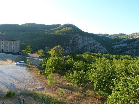 Apecchio, Italie : Vista da casolare collina