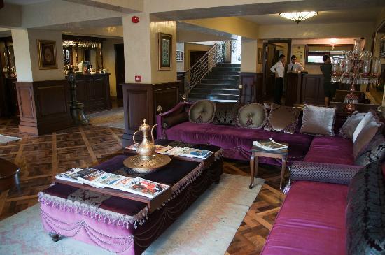 Sokullu Pasa Hotel: Lobby area
