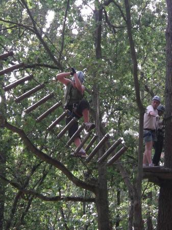 Parc Anjou Aventure : Un après midi dans les arbres