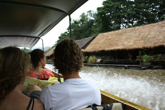 River Kwai Hotel : Aankomst