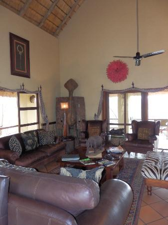 Greenfire Game Lodge: Main House