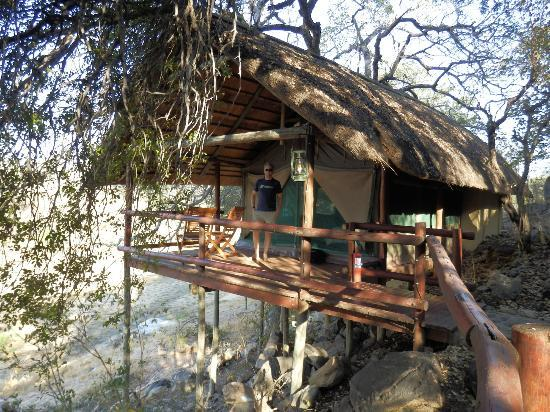 Greenfire Game Lodge: Great tent
