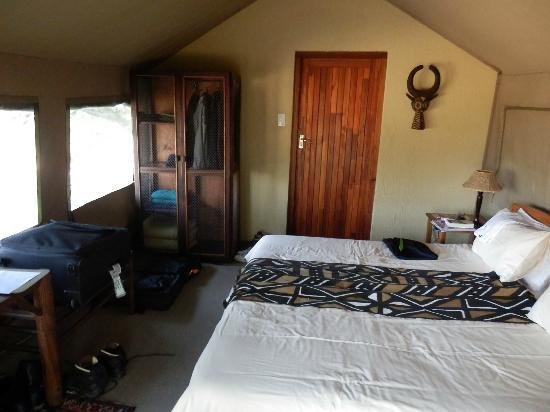 Greenfire Game Lodge: Sleeping with the sound of nature