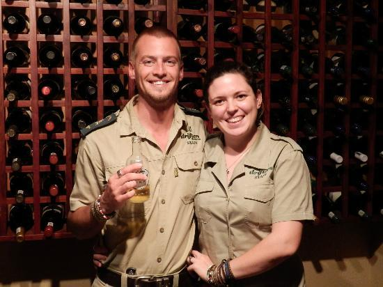 ‪‪Greenfire Game Lodge‬: Lodge manager Gavin & Belle
