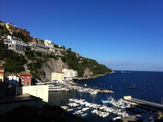 Coltur Suites Sorrento: view from our balcony (room 100)