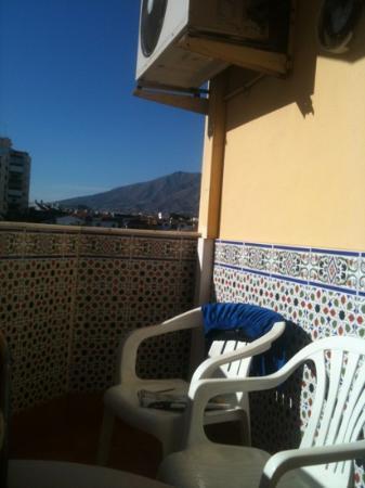Aparthotel Veramar Malaga: our balcony