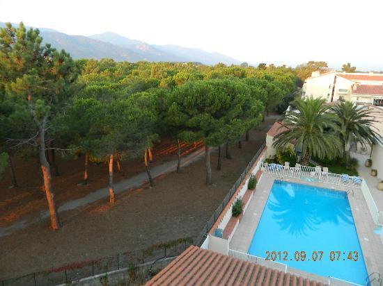 Hotel Plage des Pins : view