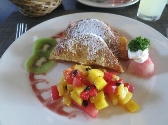Zoetry Agua Punta Cana: French toast