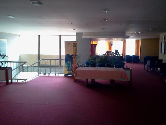 Park Hotel: Empfang