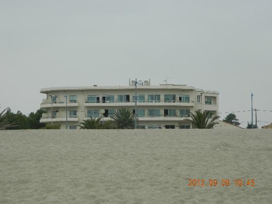 Hotel Plage des Pins : From the beach