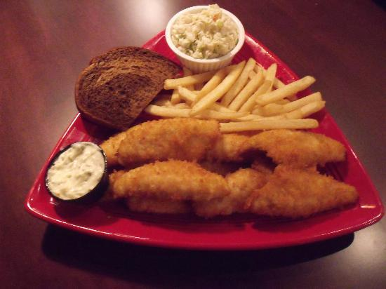 Ground Round Grill & Bar - Neenah: Friday Perch Entree