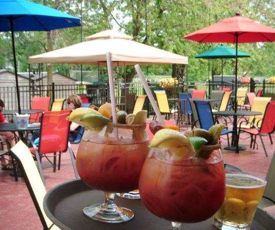 Ground Round Grill & Bar - Neenah: 22oz Loaded Bloody Marys