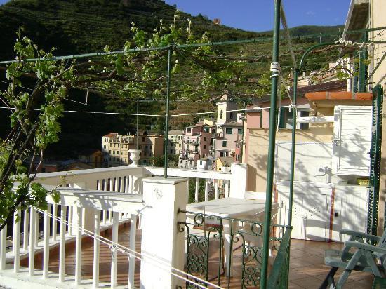Alla Porta Rossa: Balcony at Blu Mare