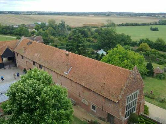 Layer Marney Tower: The Long Gallery from the tower