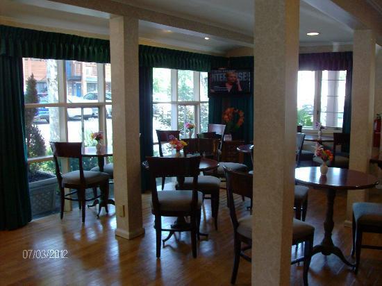 BEST WESTERN Woodbury Inn : Breakfast Room