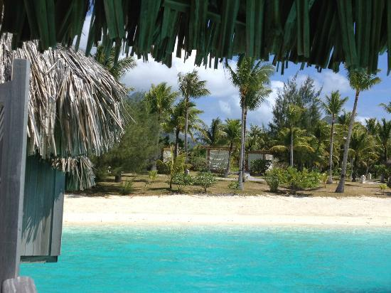 The St. Regis Bora Bora Resort: Beach