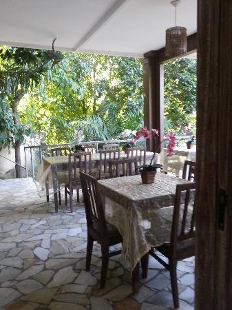 Gavea Tropical Boutique Hotel: Veranda