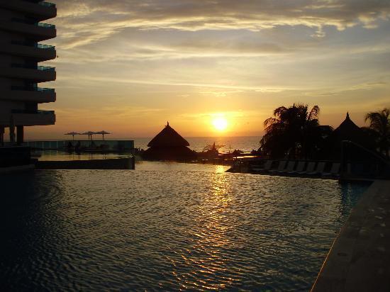 Hotel Las Américas Torre del Mar: Un atardecer en el hotel las américas