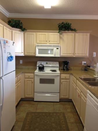 Ocean Villa Condos: kitchen in unit 1306