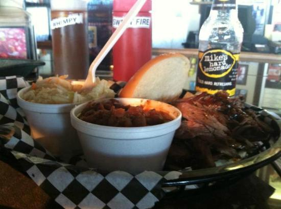 The BBQ Shack: Beef Brisket Sandwich